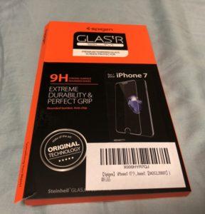 Spigen】 iPhone8 ガラスフィルム / iPhone7 ガラスフィルム