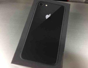 iPhone8開封