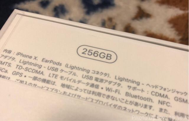 iPhoneX256GB